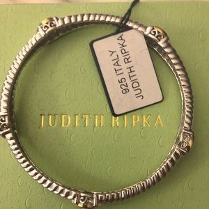 NWT PRICE IS FIRM Judith Ripka Sterlingsilver & 14K gold…